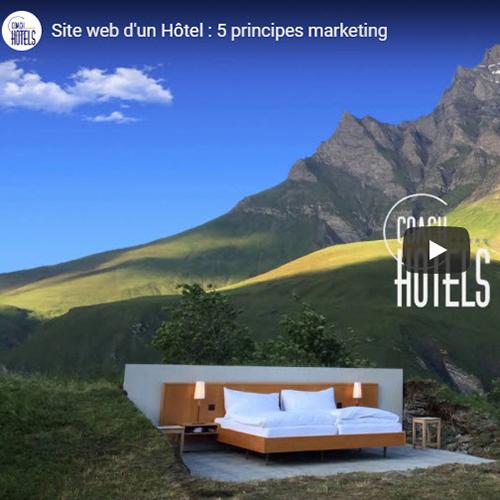 Site web d'un Hôtel