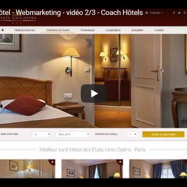 Site web hôtelier 2/3