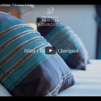 7 erreurs à éviter dans la page d'accueil d'un site web d'hôtel