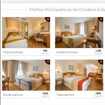 7 erreurs à éviter dans la page Chambres d'un site web d'hôtel
