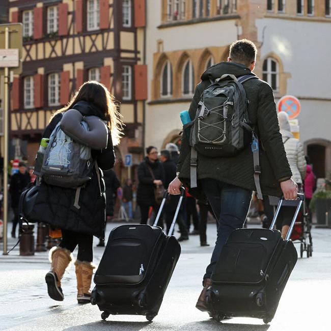 Les touristes les plus nombreux et ceux les plus dépensiers