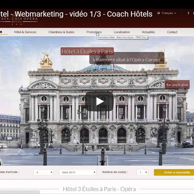 Site web hôtelier 1/3